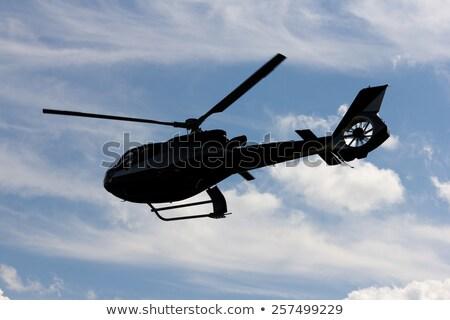 katonaság · helikopter · nagy · teher · izolált · fehér - stock fotó © dzejmsdin