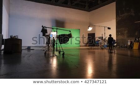 Beautiful bride in studio shooting Stock photo © razvanphotos