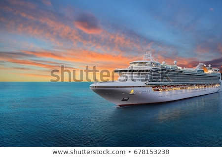 Férias cruzeiro cruzador cabine do piloto Foto stock © p0temkin
