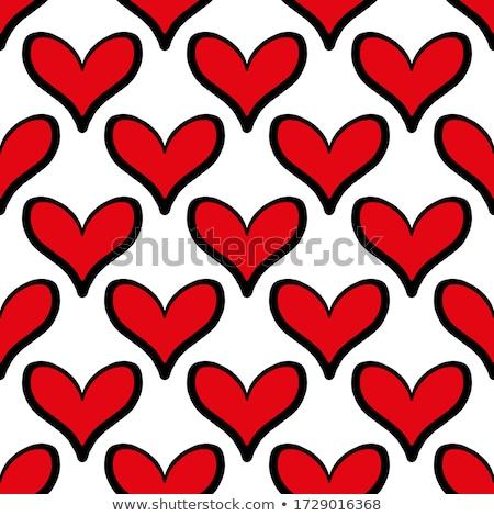 черный сердце красный аннотация текстуры Сток-фото © Oksvik