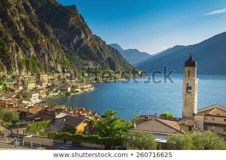 Straat Italië uitzicht op straat kleurrijk reizen gebouwen Stockfoto © Digifoodstock