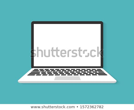 Stockfoto: Laptop · technologie · toetsenbord · monitor · web · notebook