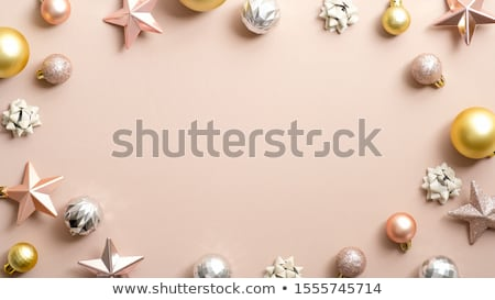 brown background with golden stars Stock photo © blackmoon979