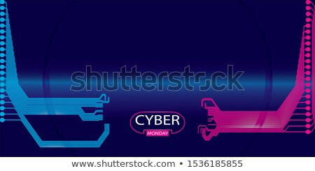 technology background with abstract lines vector design illustra stock photo © sarts