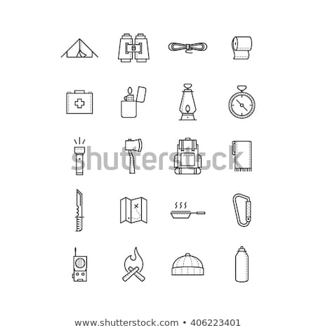 Survival guide icons Stock photo © sahua