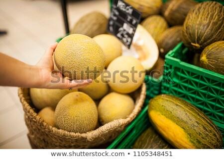 黄色 · フルーツ · 新鮮な · メロン - ストックフォト © digifoodstock