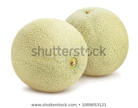 Due fresche alimentare verde melone uno Foto d'archivio © Digifoodstock