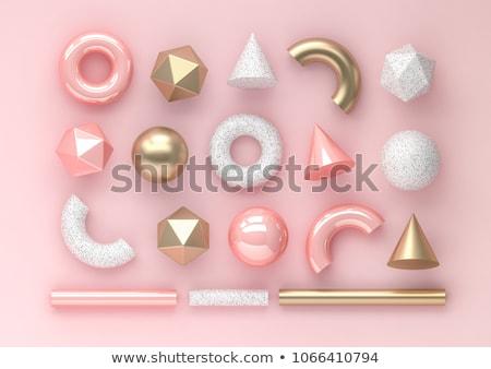 Metallic Tubes Abstract Background Stock photo © idesign