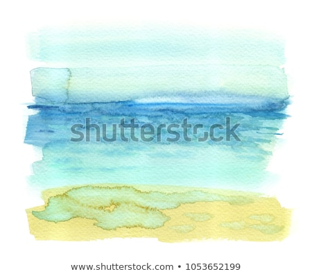чернила акварель эскиз песок стиль рисунок Сток-фото © cidepix
