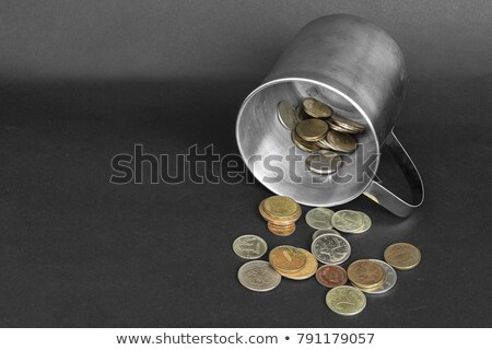 Dollar schenking vak cash munten Stockfoto © devon