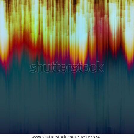 Glitch Background Vector. Signal Fail. Data Decay. Colorful Dark Glitched Stripes. Stock photo © pikepicture