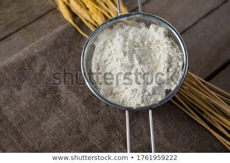 Farina grano stelo primo piano telefono Foto d'archivio © wavebreak_media