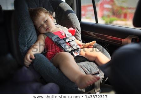 veiligheid · auto · zitting · geïsoleerd - stockfoto © is2