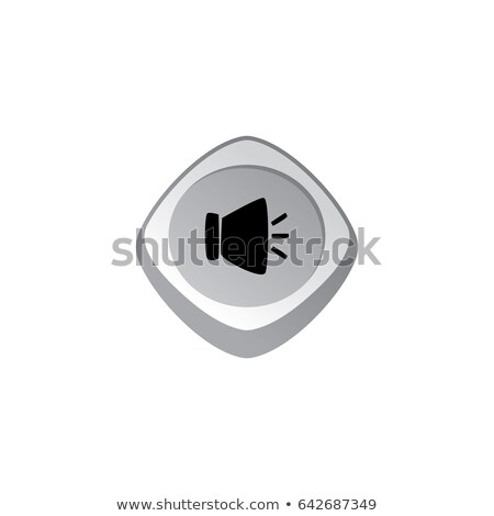 music audio glossy color app icon button game asset theme vector Stock photo © vector1st