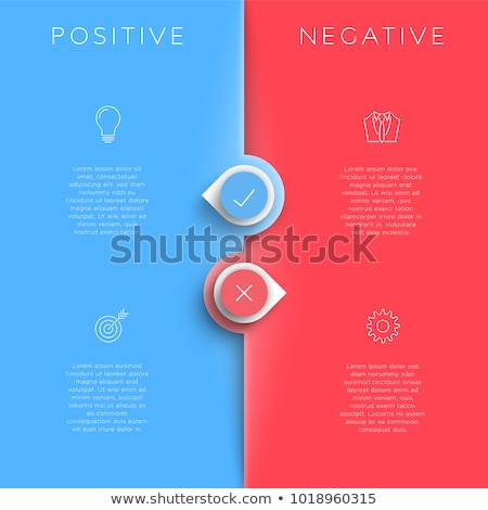 Blank Pros And Cons List Stock photo © ivelin