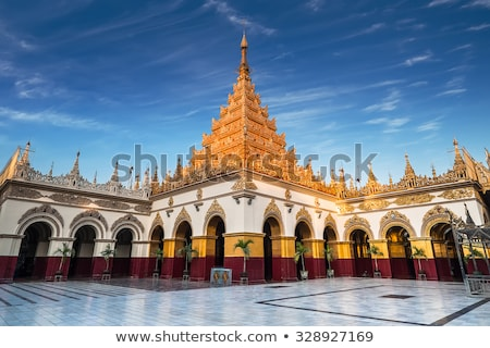 pagode · Myanmar · centraal · witte · huisvesting · marmer - stockfoto © romitasromala