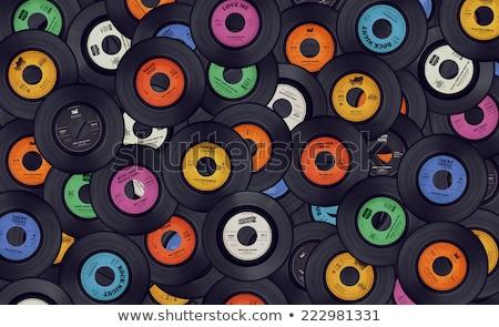 Vinyl record, music Stock photo © studiostoks