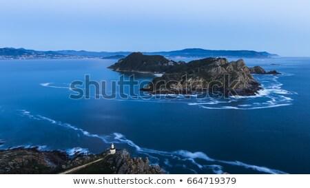 Eilanden antenne galicië Spanje strand hemel Stockfoto © lunamarina