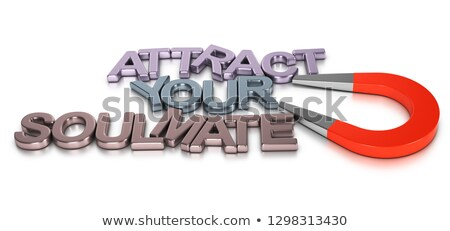Matchmaking Concept, Attract Your Soulmate Stock photo © olivier_le_moal