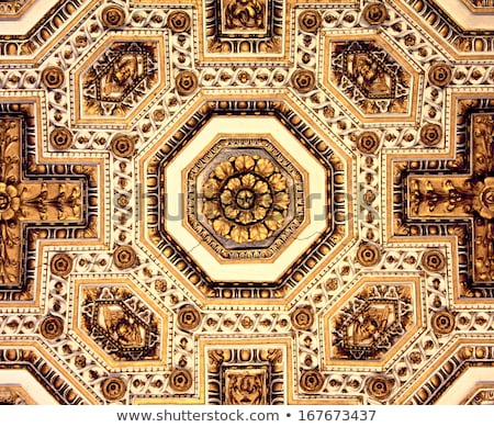 Barok koepel plafond detail kathedraal kerk Stockfoto © lunamarina