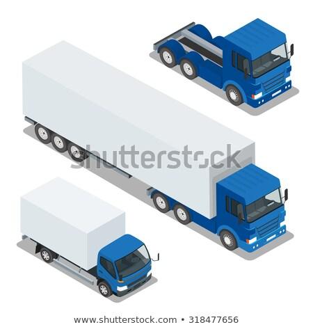 Carico camion transporti veloce consegna trasporto Foto d'archivio © tashatuvango
