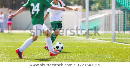 chłopca · piłka · działania · chłopców - zdjęcia stock © matimix