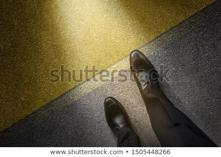 Empresario toma cambio hombre financieros Foto stock © Elnur
