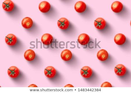 томатный шаблон природы дизайна саду ткань Сток-фото © doomko