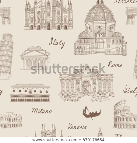 Venise · Voyage · Italie · symbole · signe · ville - photo stock © netkov1
