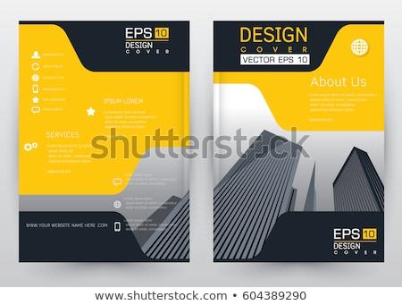 zestaw · ulotki · broszura · banner · projekty · wektora - zdjęcia stock © makyzz
