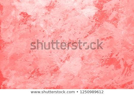 gebarsten · roze · verf · textuur · oude · muur - stockfoto © dolgachov