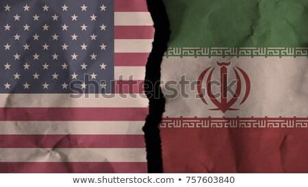 イラン · 米国 · 経済の · 戦う · 米国 · 紛争 - ストックフォト © lightsource