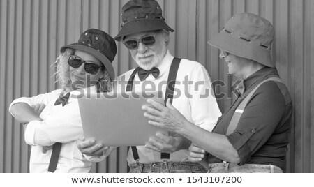 フロント 表示 グループ アクティブ シニア 人 ストックフォト © wavebreak_media