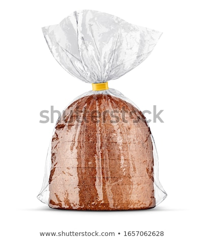 Bread bag packaging with sliced bread inside. Stock photo © LoopAll