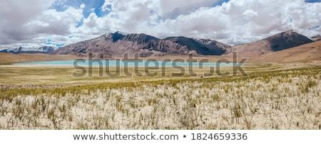 Tó India Himalája tájkép hegy hegyek Stock fotó © dmitry_rukhlenko