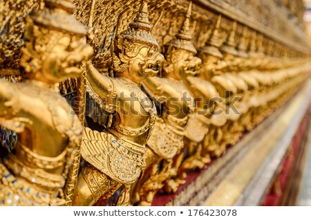 garuda in grand palace bangkok thailand stock photo © sasilsolutions