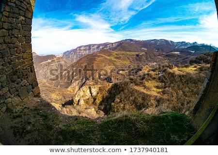 velho · verde · mapa · Armênia · papel - foto stock © speedfighter