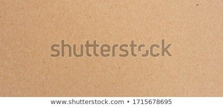 грубая оберточная бумага карт совета текстуры работу Сток-фото © homydesign