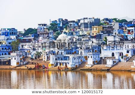holy lake in Pushkar India Stock photo © Mikko