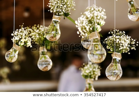 the floral decoration in the garden stock photo © frank11