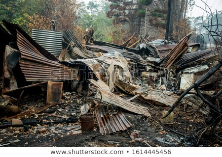 Fires in Blue Mountains Australia Stock photo © lovleah