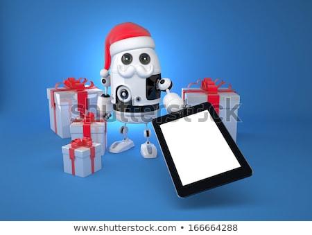 cadeau · générique · ordinateur · 3D · modèle - photo stock © kirill_m