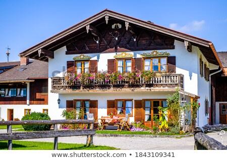 old typical historic farmhouse  Stock photo © meinzahn
