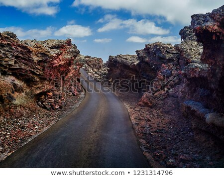 Mountains of fire,Timanfaya Park, Lanzarote, Canary islands. Stock photo © Nejron