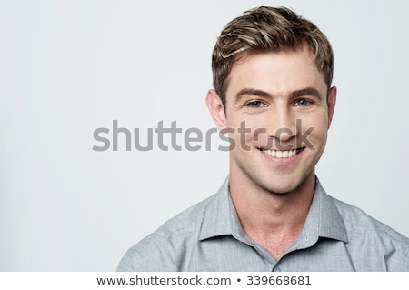 Handsome young lithuanian model Stock photo © stockyimages