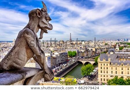 Paris kilise ufuk çizgisi mimari Stok fotoğraf © AndreyKr