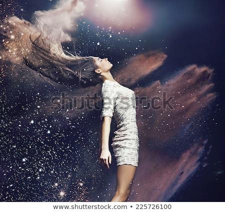 アスレチック · 女性 · ダンス · セクシー · ドレス · 美しい - ストックフォト © konradbak