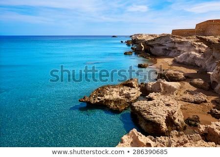 Almeria in Cabo de Gata Los Escullos beach Spain Stock photo © lunamarina