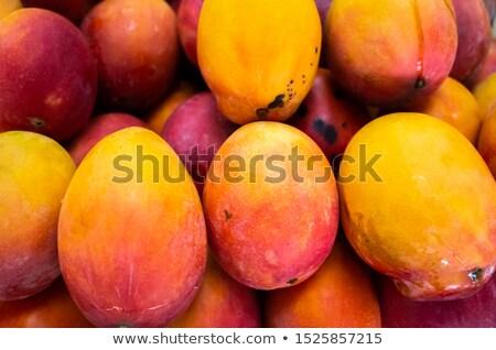 Fresh mangoes stall Stock photo © smithore