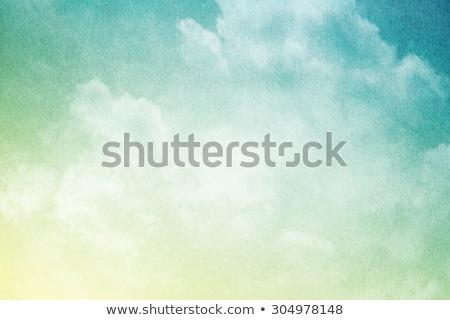 Blue Sky белый мягкой облака аннотация свет Сток-фото © lkpro